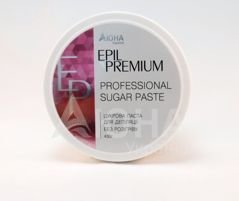 Шугаринг без разогрева Epil Premium Subtle Ultra Soft, 430 г
